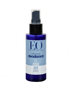 EO Products Organic Deodorant Spray Vetiver - 4 fl oz