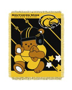 The Northwest Company Southern Mississippi College Baby 36x46 Triple Woven Jacquard Throw - Fullback Series