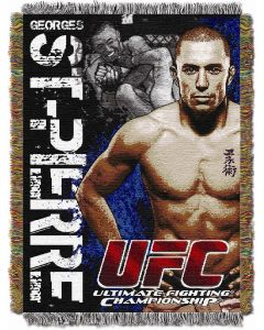 "The Northwest Company UFC- George St. Pierre  48""x60"" Tapestry Throw"