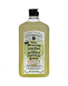 J.R. Watkins Dish Soap - Moisturizing - Sweetgrass and Citron - 24 fl oz