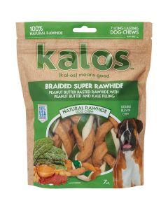 "Jakks Kalos-Rawhide Triple Braids 5"" 7 Pack-Peanut Butter And Kale"