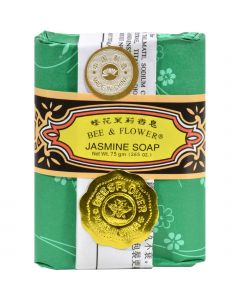 Bee and Flower Soap Jasmine - 2.65 oz - Case of 12