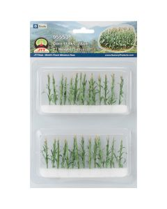 "JTT Scenery Corn Stalks 2"" Tall 28/Pkg-"