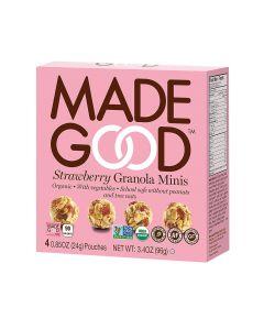 Made Good Granola Minis - Strawberry - Case of 6 - 3.4 oz.