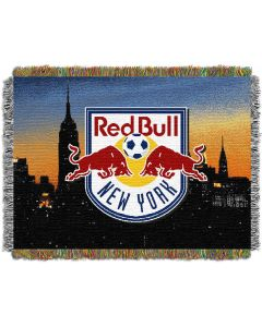 """The Northwest Company NY Red Bulls 48""""x60"""" Tapestry Throw"""