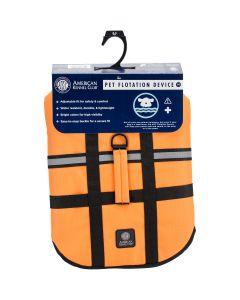Bh Pet Gear AKC Flotation Vest-Orange Extra Large