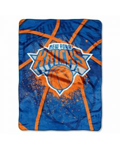 The Northwest Company Knicks  60x80 Super Plush Throw - Shadow Play Series