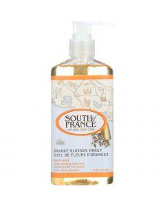 South Of France Hand Wash - Orange Blossom Honey - 8 oz - 1 each