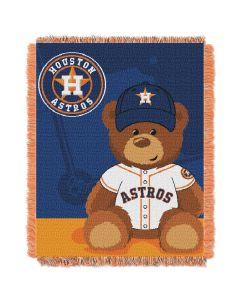 The Northwest Company Astros  Baby 36x46 Triple Woven Jacquard Throw - Field Bear Series