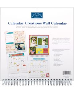 """Karen Foster Calendar Creations Wall Calendar 12""""X12""""-Blank"""