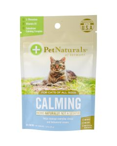 Pet Naturals of Vermont Calming Chews For Cats 30/Pkg-