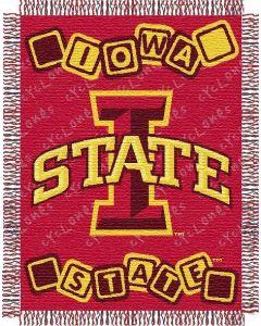 "The Northwest Company Iowa State baby 36""x 46"" Triple Woven Jacquard Throw (College) - Iowa State baby 36""x 46"" Triple Woven Jacquard Throw (College)"