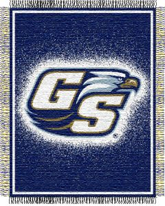 "The Northwest Company GA Southern ""Focus"" 48""x60"" Triple Woven Jacquard Throw (College) - GA Southern ""Focus"" 48""x60"" Triple Woven Jacquard Throw (College)"