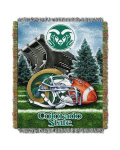 """The Northwest Company Colorado State College """"Home Field Advantage"""" 48x60 Tapestry Throw"""