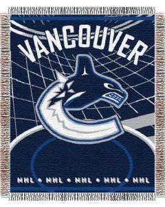 "The Northwest Company Canucks 48""x 60"" Triple Woven Jacquard Throw (NHL) - Canucks 48""x 60"" Triple Woven Jacquard Throw (NHL)"