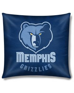 "The Northwest Company Grizzlies 18""x18"" Cotton Duck Toss Pillow (NBA) - Grizzlies 18""x18"" Cotton Duck Toss Pillow (NBA)"