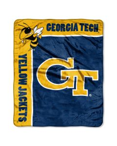 "The Northwest Company Georgia Tech ""School Spirit"" 50""x60"" Raschel Throw (College) - Georgia Tech ""School Spirit"" 50""x60"" Raschel Throw (College)"