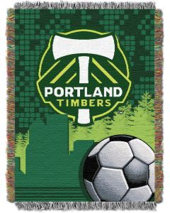 """The Northwest Company Portland Timbers 48""""x60"""" Tapestry Throw"""