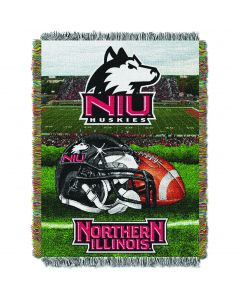 """The Northwest Company Northern Illinois College """"Home Field Advantage"""" 48x60 Tapestry Throw"""