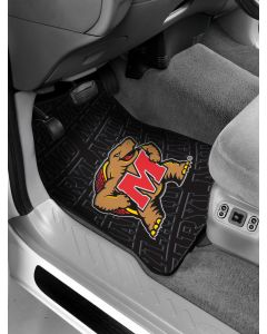 The Northwest Company Maryland College Car Floor Mats (Set of 2) - Maryland College Car Floor Mats (Set of 2)