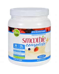 To Go Brands Inc Protein Shake Mix - Smoothie Complete - Naturally Flavored Vanilla Berry - 18 oz