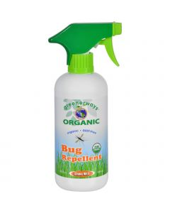 Greenerways Organic Greenerways Bug Repellent - Organic - Spray - 16 oz