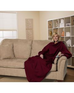 The Northwest Company Comfy Adult - Red (Adult) Fleece Comfy Throw - Comfy Adult - Red (Adult) Fleece Comfy Throw