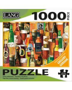 """LANG NEW! Jigsaw Puzzle 1000 Pieces 29""""X20""""-Crafted Brews"""