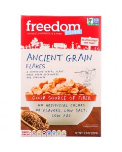 Freedom Foods Cereal - Ancient Grain Flakes - Gluten Free - 12.3 oz - case of 5