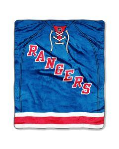 The Northwest Company Rangers Jersey  50x60 Super Plush Throw - Jersey Series