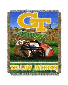 "The Northwest Company Georgia Tech College ""Home Field Advantage"" 48x60 Tapestry Throw"