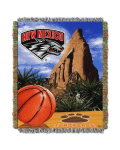 """The Northwest Company New Mexico College """"Home Field Advantage"""" 48x60 Tapestry Throw"""
