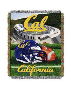 "The Northwest Company UC Berkley College ""Home Field Advantage"" 48x60 Tapestry Throw"