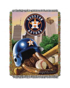 """The Northwest Company Astros  """"Home Field Advantage"""" 48x60 Tapestry Throw"""