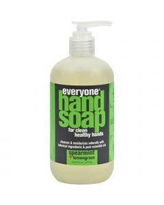 EO Products Everyone Hand Soap - Spearmint and Lemongrass - 12.75 oz