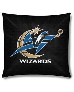 "The Northwest Company Wizards 18""x18"" Cotton Duck Toss Pillow (NBA) - Wizards 18""x18"" Cotton Duck Toss Pillow (NBA)"