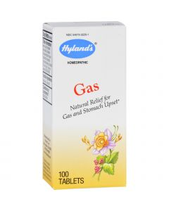 Hyland's Hylands Homeopathic Gas - 100 Tablets