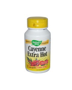 Nature's Way Cayenne Extra Hot - 100 Capsules