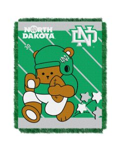 The Northwest Company North Dakota College Baby 36x46 Triple Woven Jacquard Throw - Fullback Series