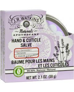 J.R. Watkins Hand and Cuticle Salve Lavender - 2.1 oz