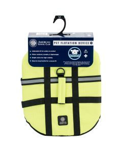 Bh Pet Gear AKC Flotation Vest-Yellow Extra Large