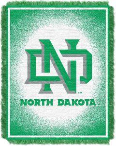 "The Northwest Company North Dakota ""Focus"" 48""x60"" Triple Woven Jacquard Throw (College) - North Dakota ""Focus"" 48""x60"" Triple Woven Jacquard Throw (College)"