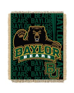 The Northwest Company Baylor College 48x60 Triple Woven Jacquard Throw - Double Play Series