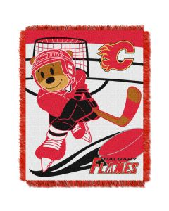The Northwest Company Flames  Baby 36x46 Triple Woven Jacquard Throw - Score Series