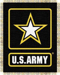 The Northwest Company U.S. Army Military 48x60 Triple Woven Jacquard Throw