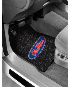 The Northwest Company Mississippi  College Car Floor Mats (Set of 2) - Mississippi  College Car Floor Mats (Set of 2)