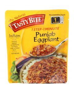 Tasty Bite Entree - Indian Cuisine - Punjab Eggplant - 10 oz - case of 6
