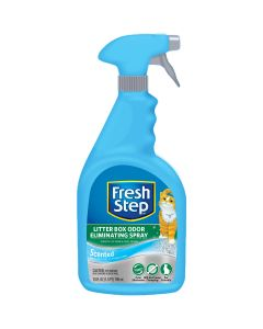 Fetch For Pets Fresh Step Litter Box Odor Eliminating Spray-24oz