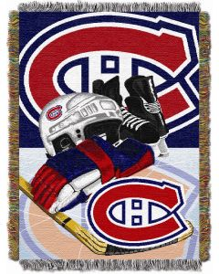 "The Northwest Company Canadiens  ""Home Ice Advantage"" 48x60 Tapestry Throw"