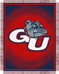 "The Northwest Company Gonzaga ""Focus"" 48""x60"" Triple Woven Jacquard Throw (College) - Gonzaga ""Focus"" 48""x60"" Triple Woven Jacquard Throw (College)"